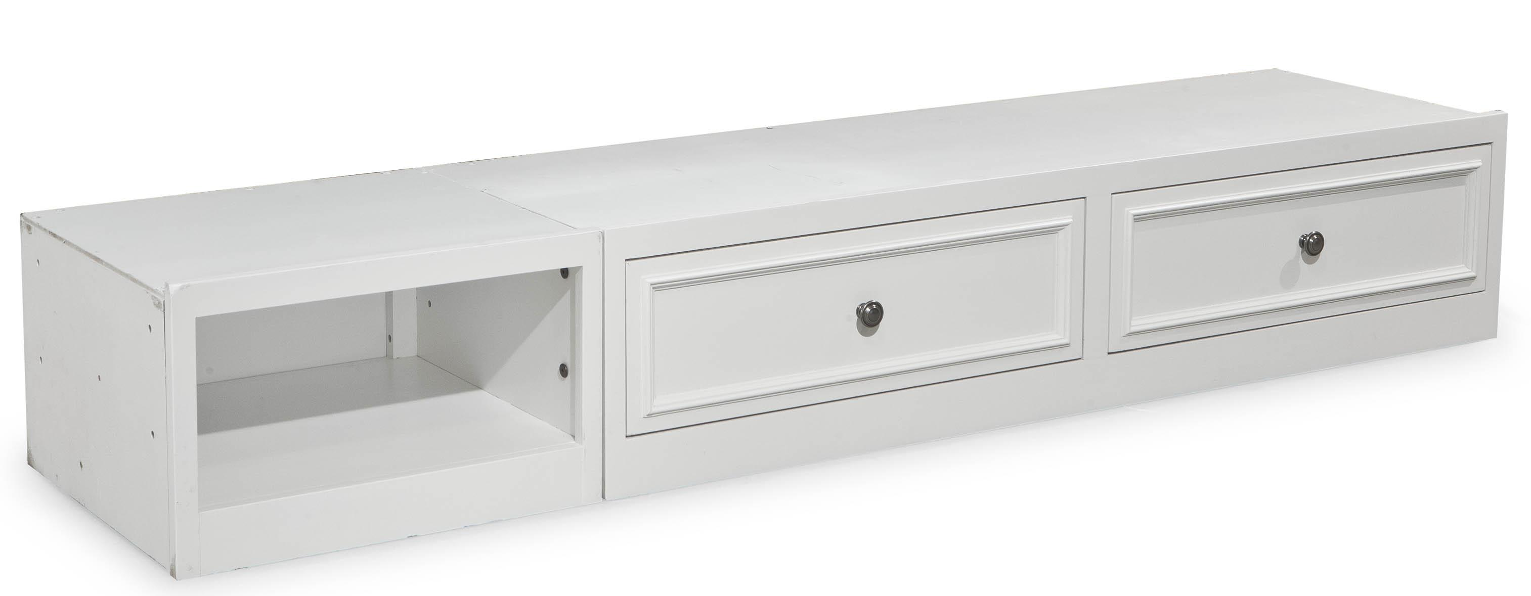 Legacy Classic Kids Madison 2830 9300 Underbed Storage Unit With 2 Drawers And 1 Open