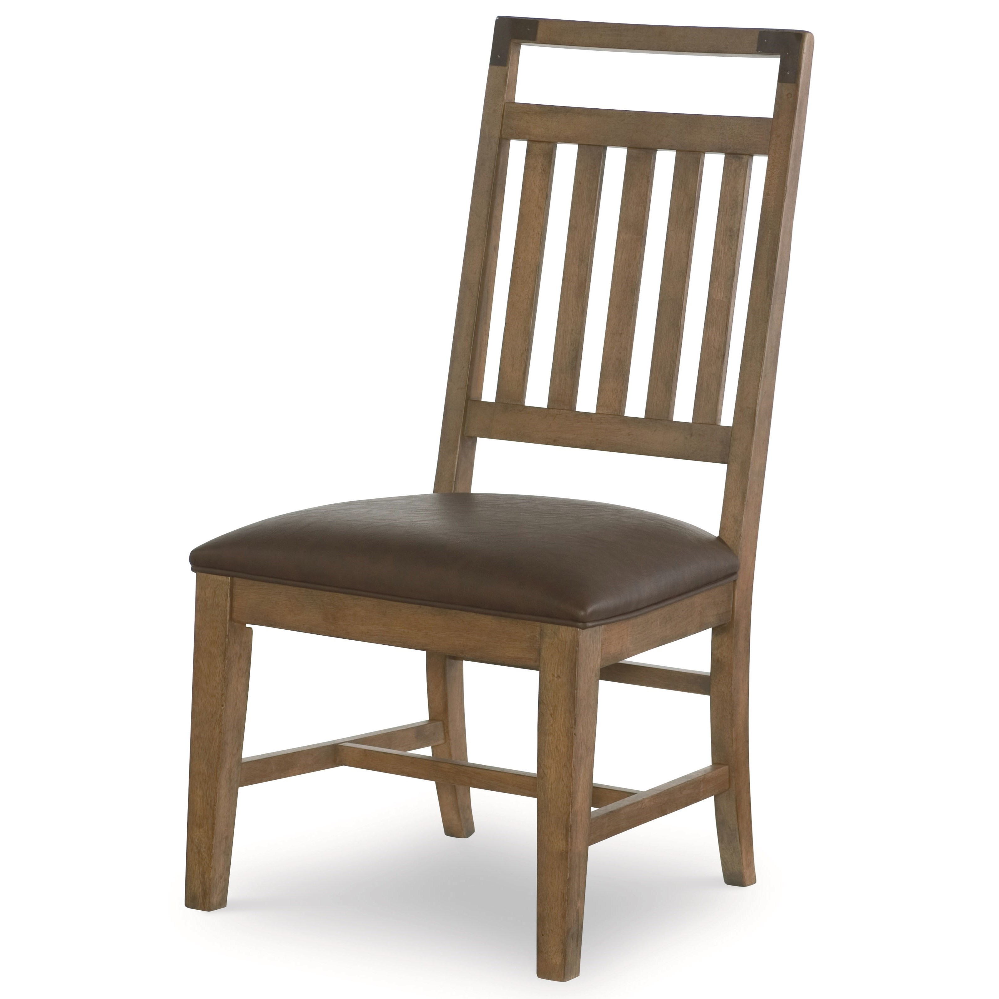 Legacy classic metalworks splat back side chair with for Legacy classic dining room furniture