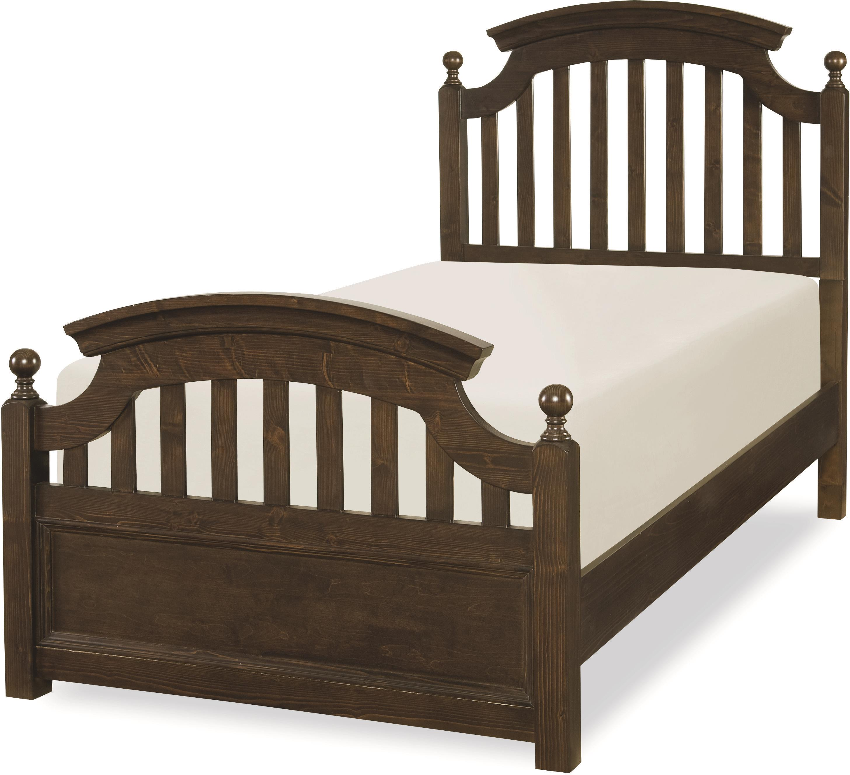 Legacy classic kids academy 5810 4104k full panel bed with for Legacy classic bed