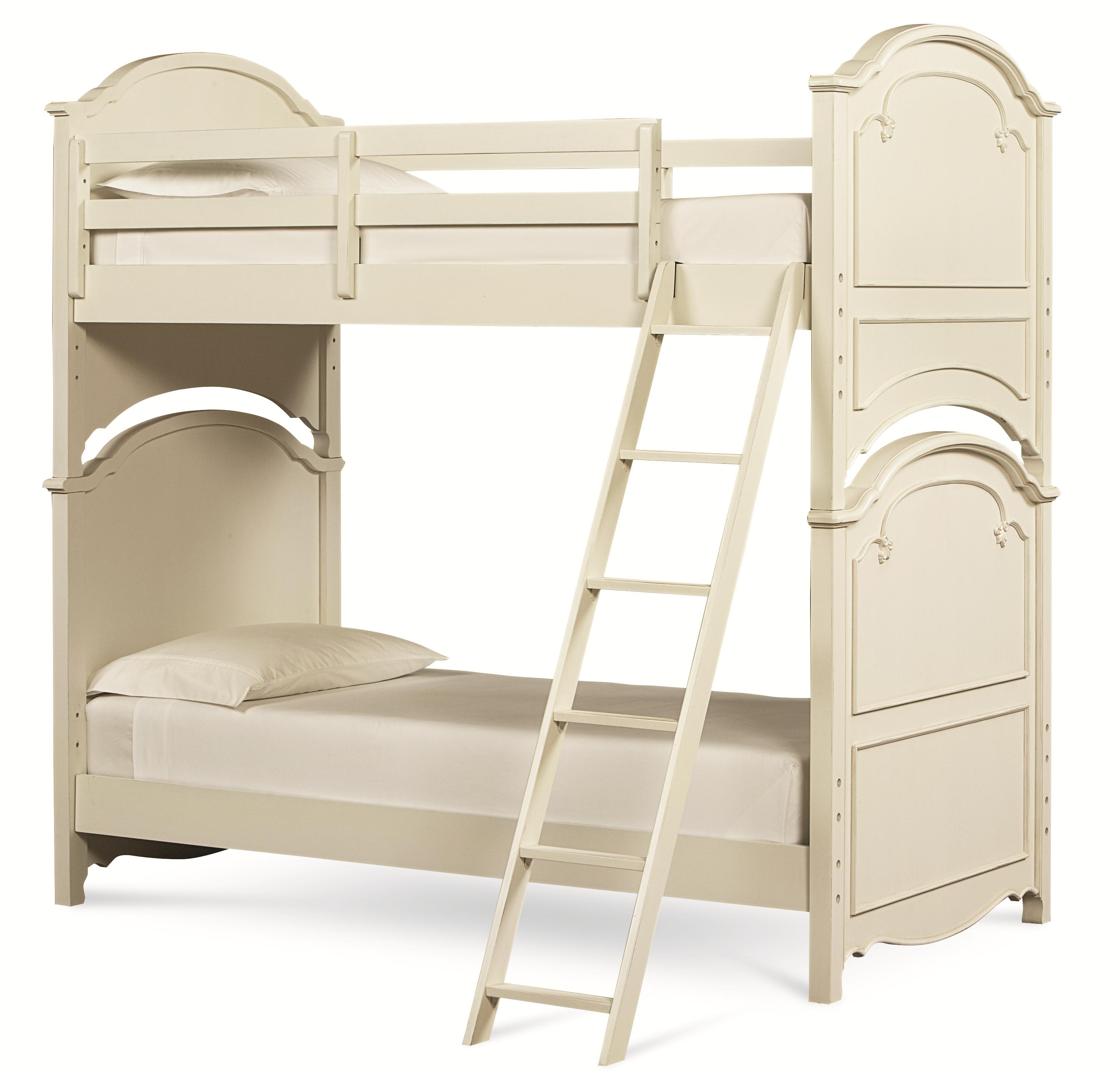Legacy classic kids charlotte twin over twin bunk bed for Legacy classic bed