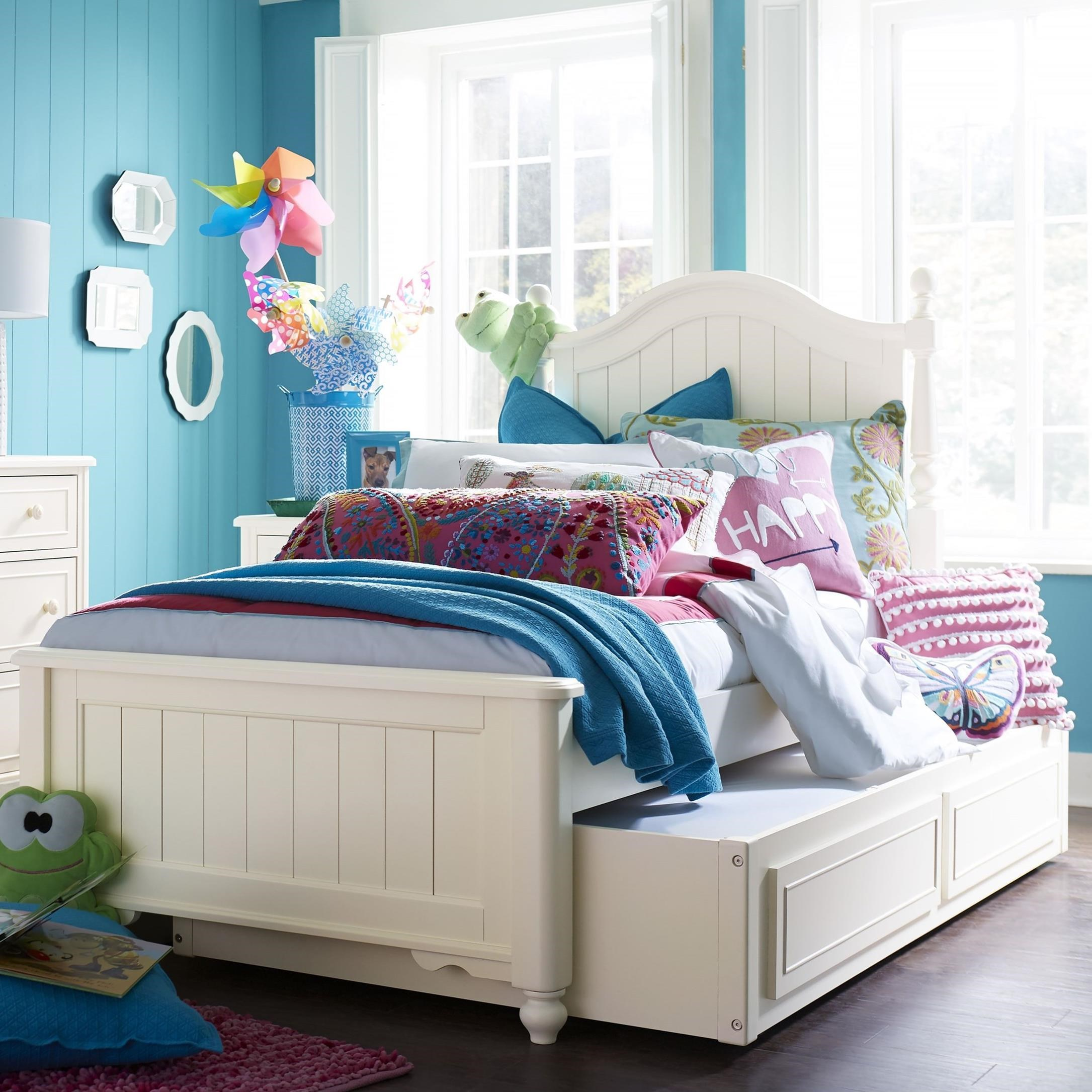 Legacy classic kids summerset twin bed with trundle for Legacy classic bed