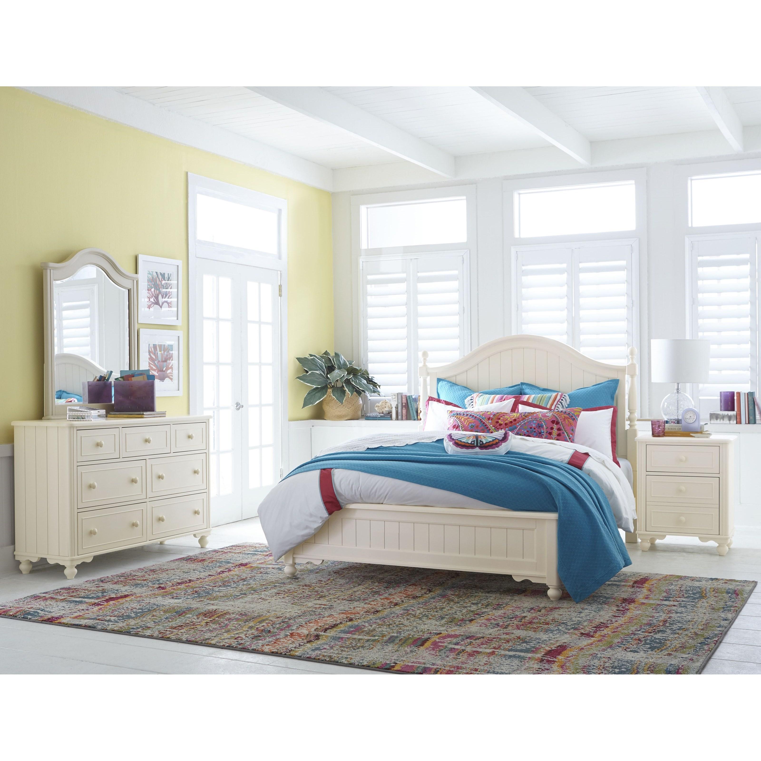 Legacy Classic Kids Summerset Queen Low Poster Panel Bed Jacksonville Furniture Mart Panel Beds