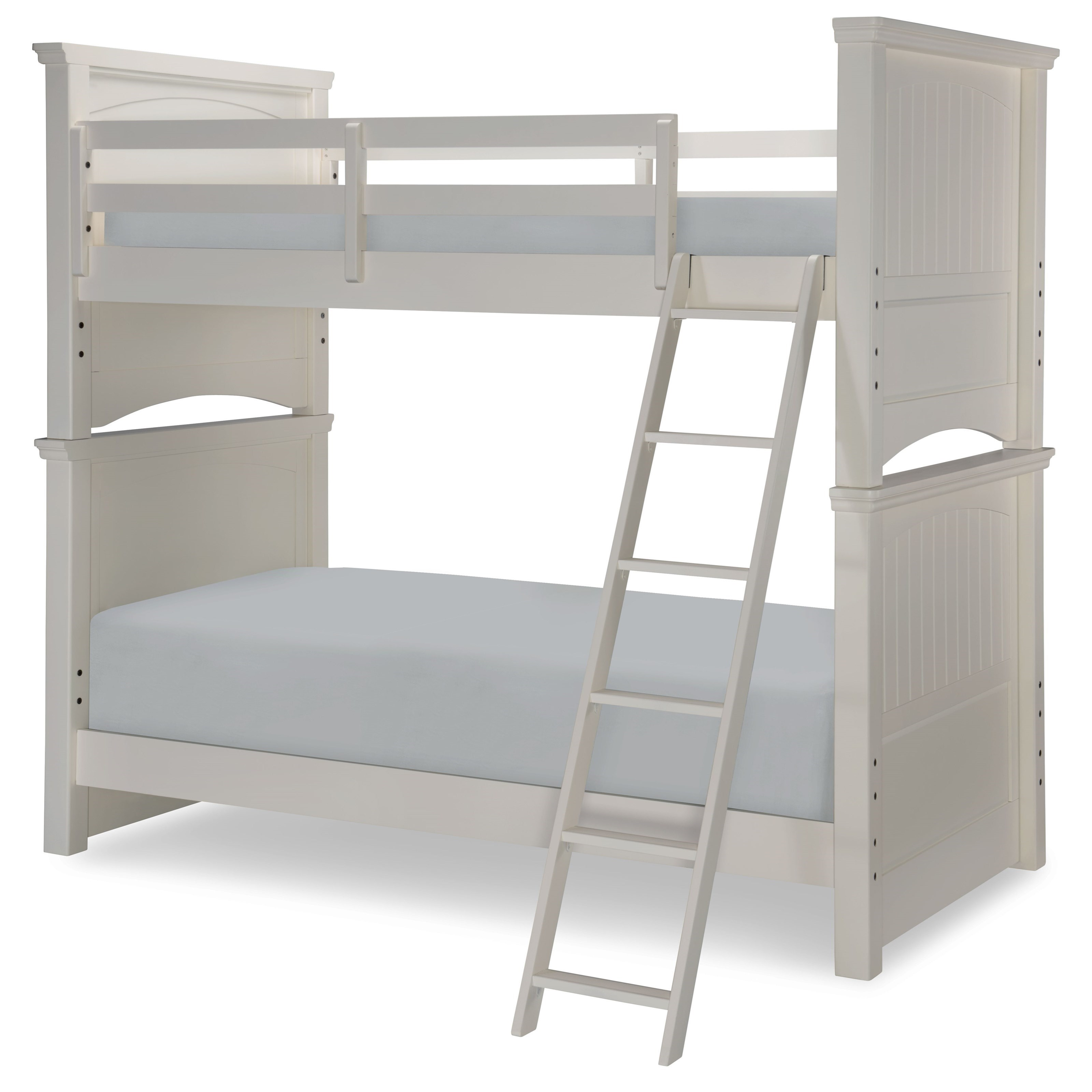 Legacy classic kids summerset twin over twin panel bunk for Legacy classic bed