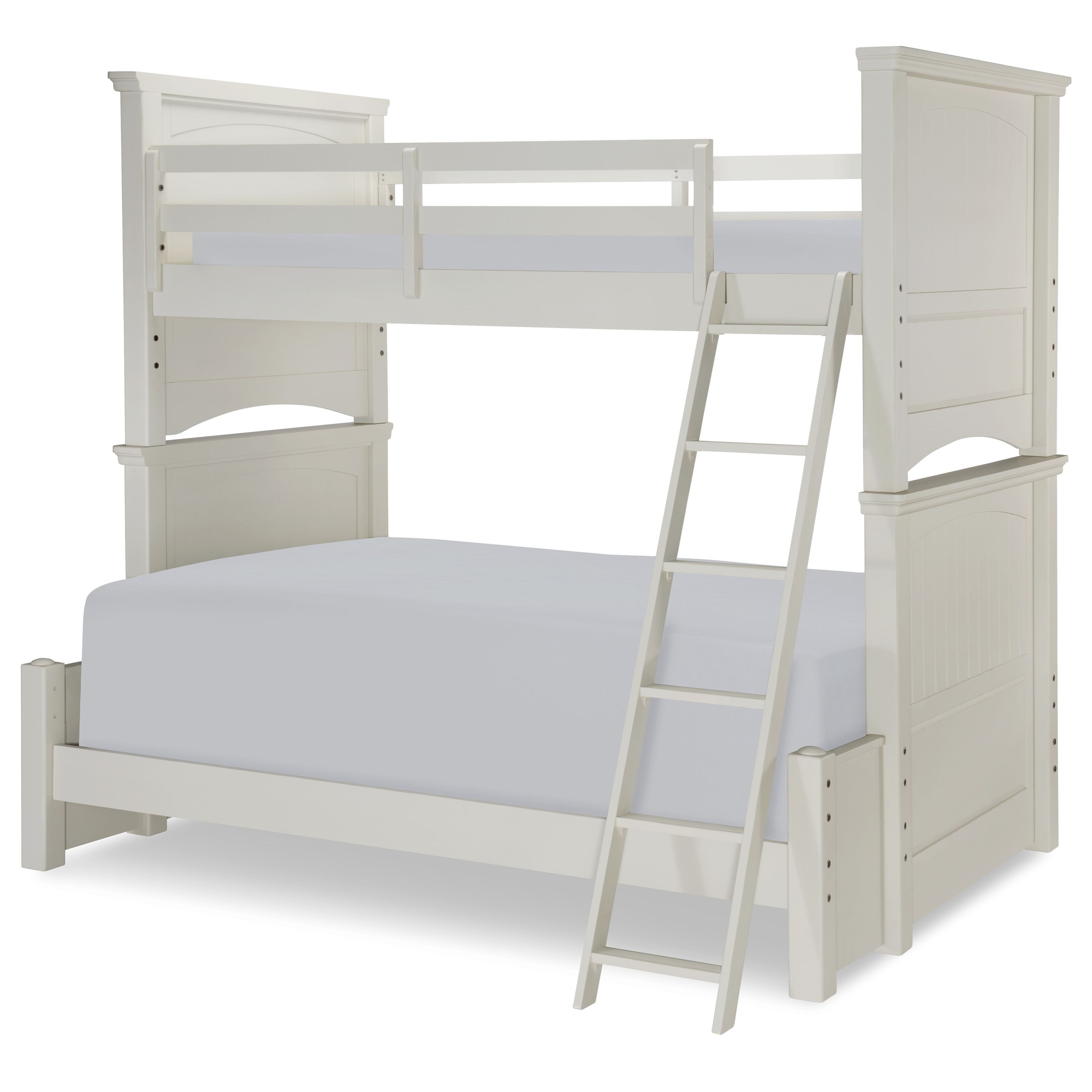 Legacy classic kids summerset twin over full panel bunk for Legacy classic bed