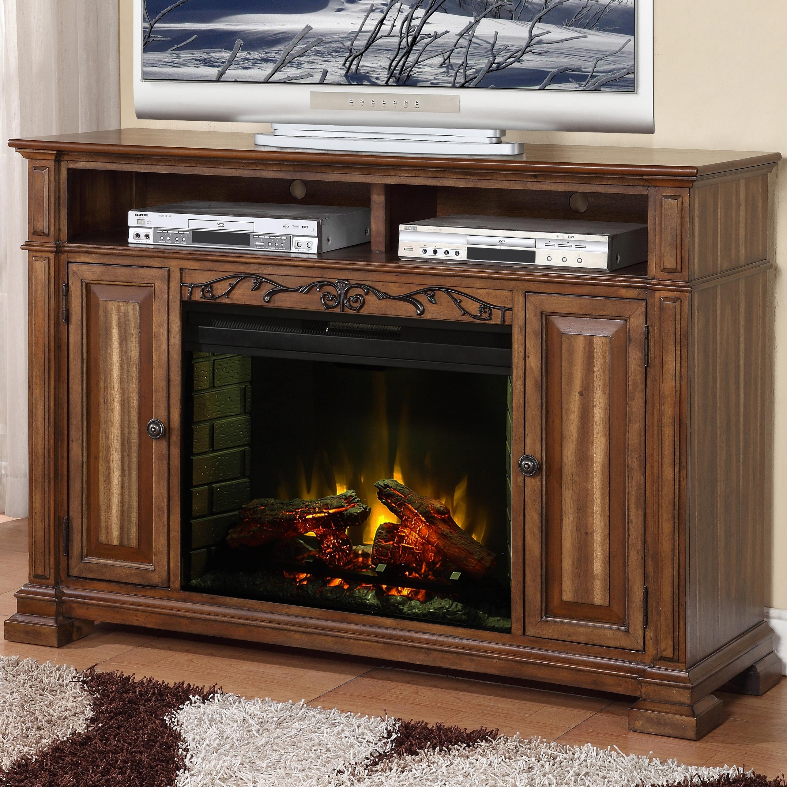 Legends Furniture Barclay ZBCL 1900 Fireplace Media Center