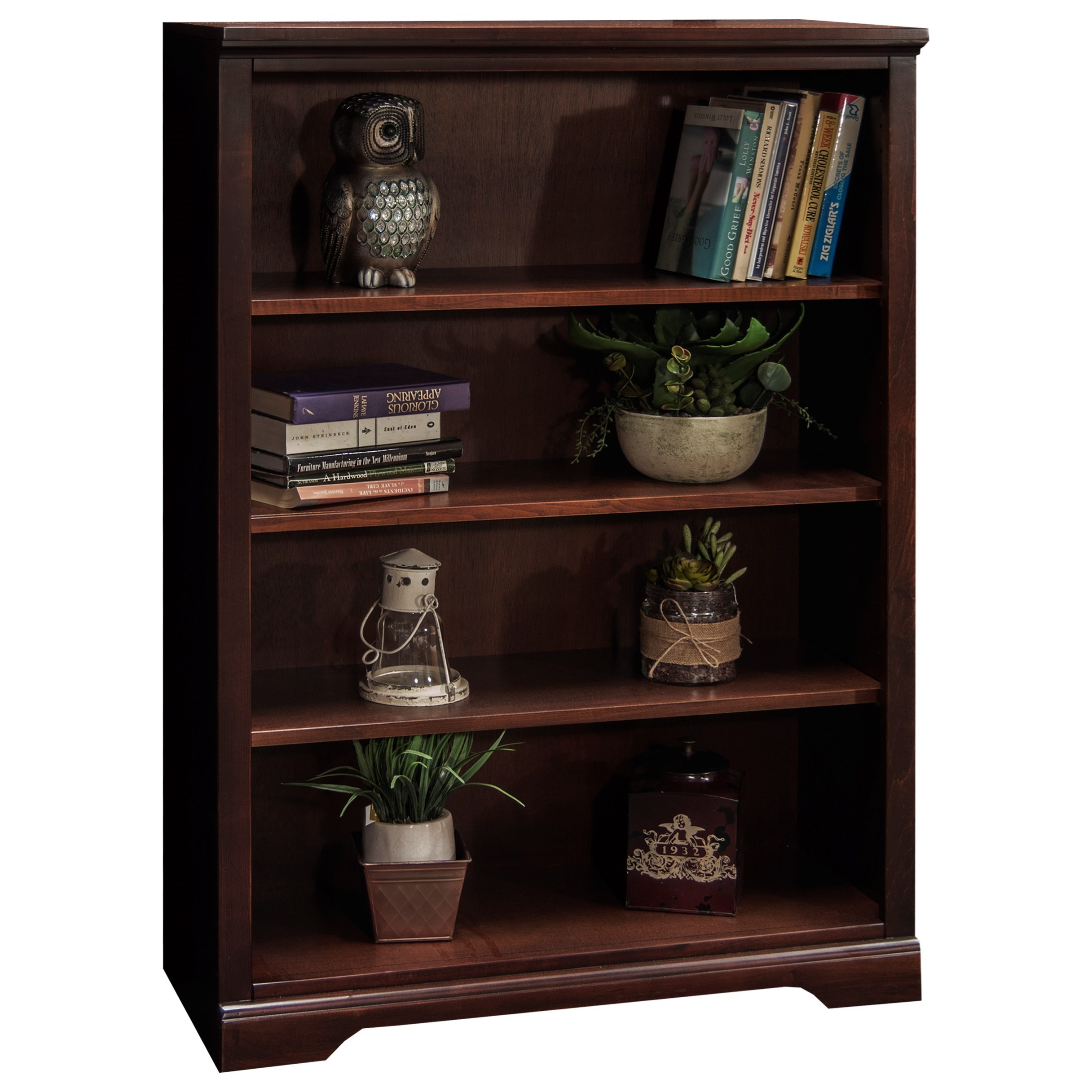 Legends Furniture Brentwood Bw6848 Dnc Casual 48 Bookcase For Home Organization Dunk Bright
