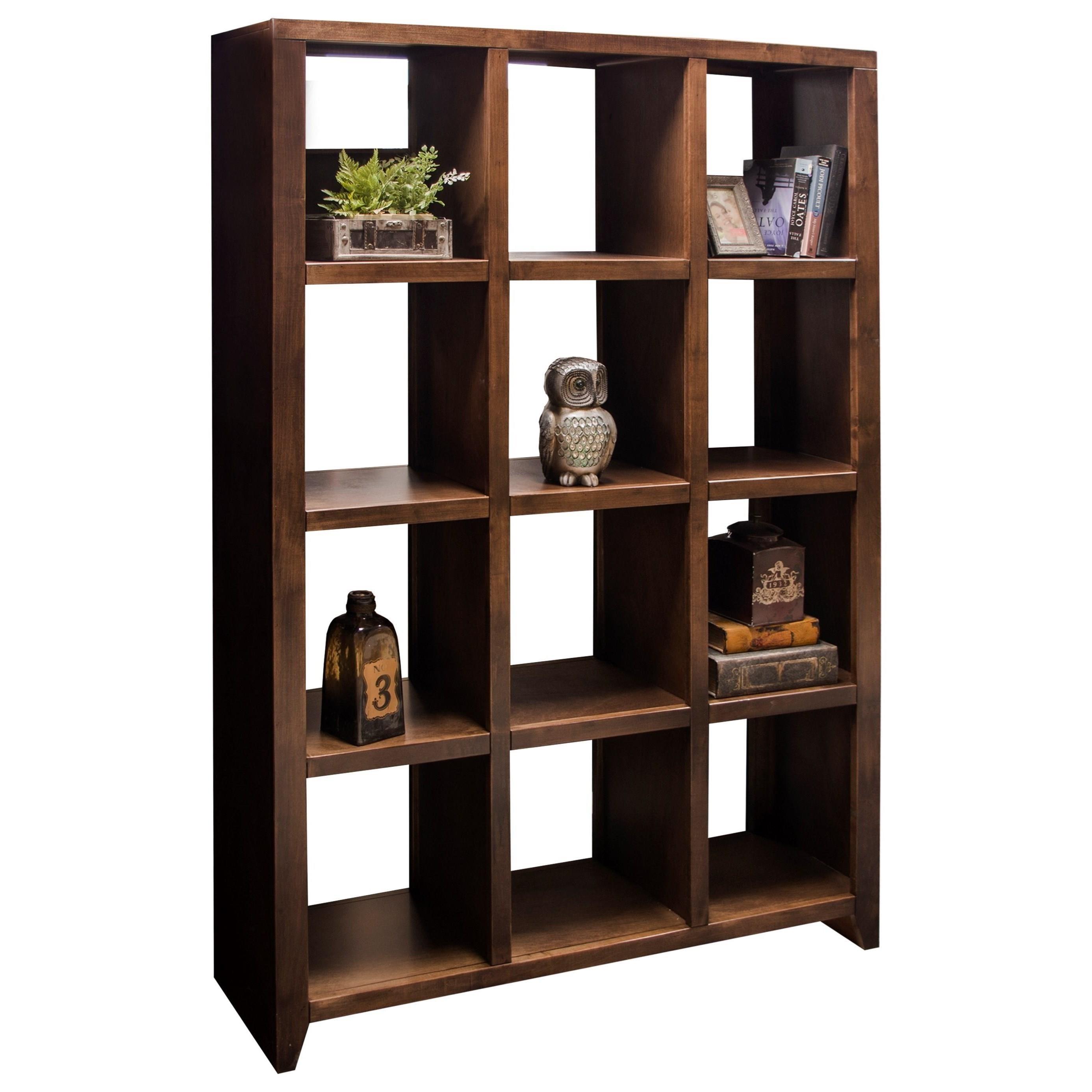 Legends furniture brownstone collection brownstone room - Open bookcase room divider ...