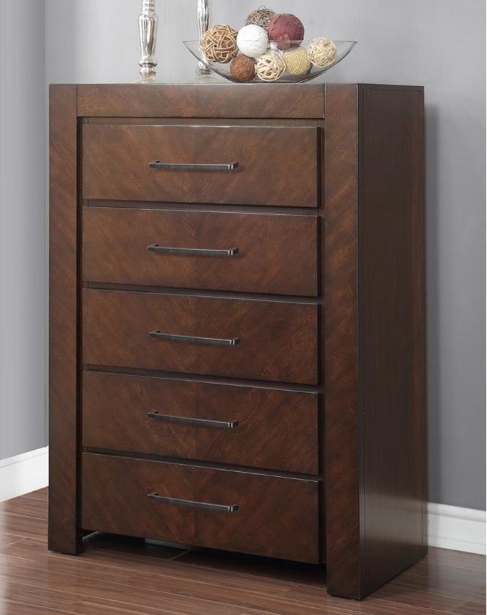 Legends furniture city lights zctl 7016 5 drawer chest for Hudsons furniture