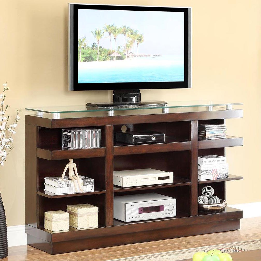 Legends furniture novella znov 1465 9 shelf tv stand with for Bookcase and tv stand