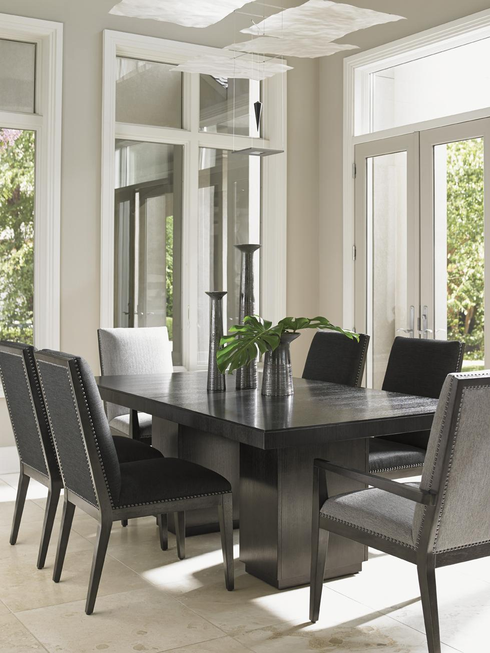 Lexington Carrera Modena Double Pedestal Dining Table With