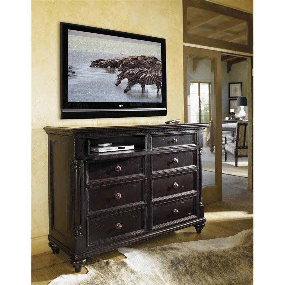 Tommy Bahama Home Kingstown Stony Point Dresser With Pilasters Hudson 39 S Furniture Dressers