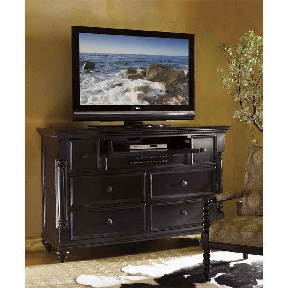 Tommy Bahama Home Kingstown 619 233 Stony Point Triple Dresser With Pilasters Baer 39 S Furniture