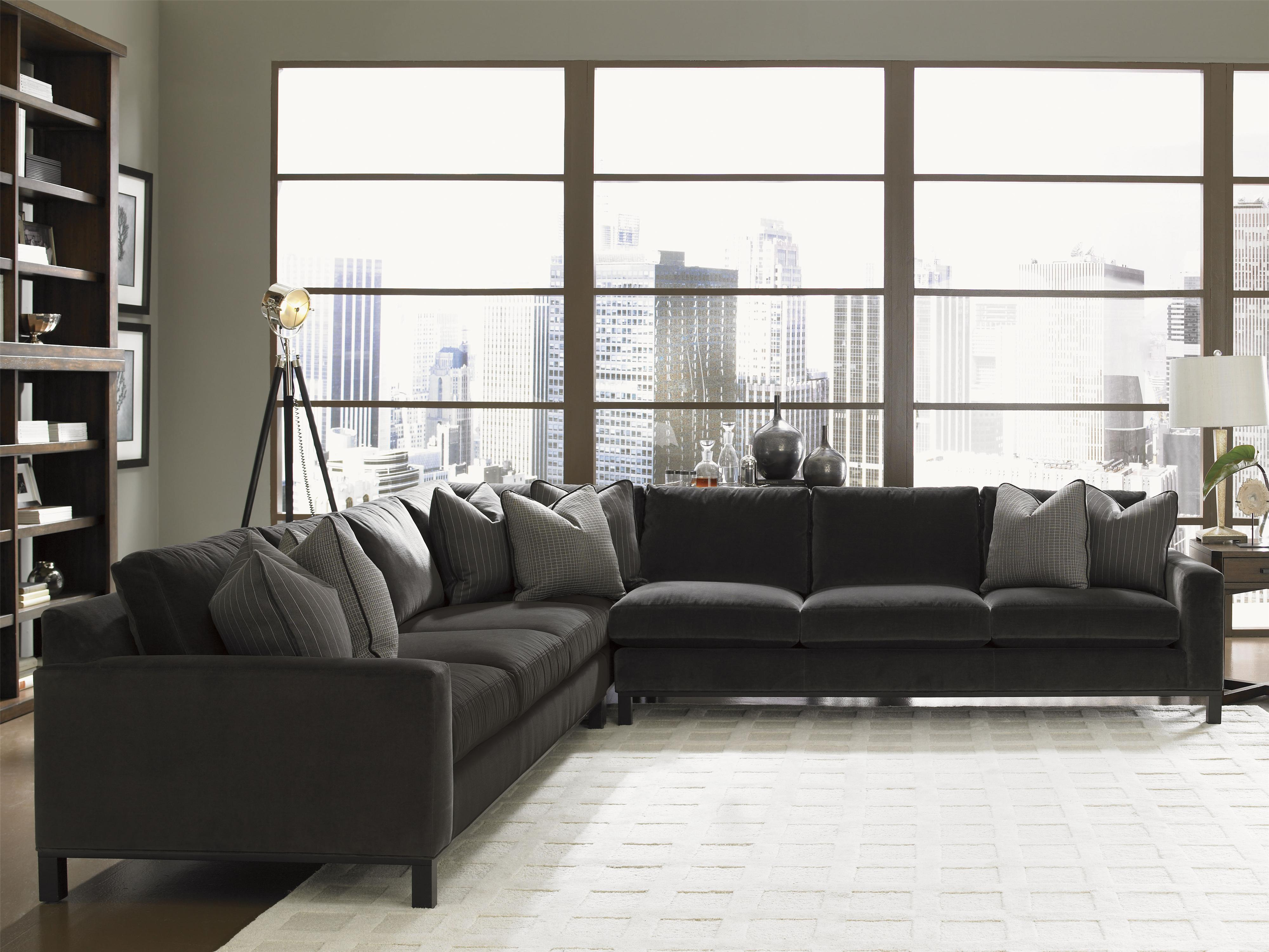 Lexington 11 South 3 Piece Upholstered Chronicle Sectional