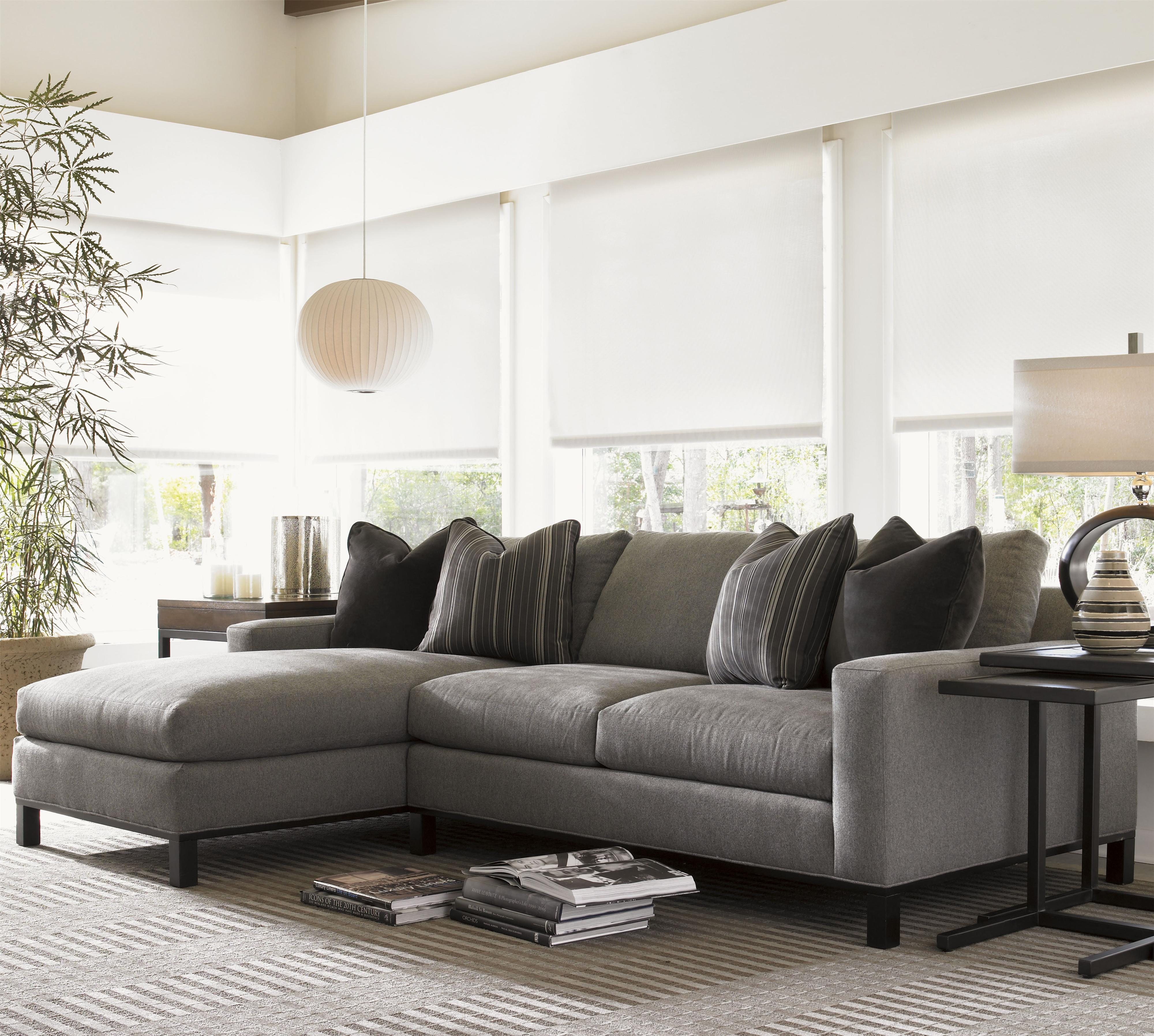 Lexington 11 South 2 Piece Upholstered Chronicle Sectional