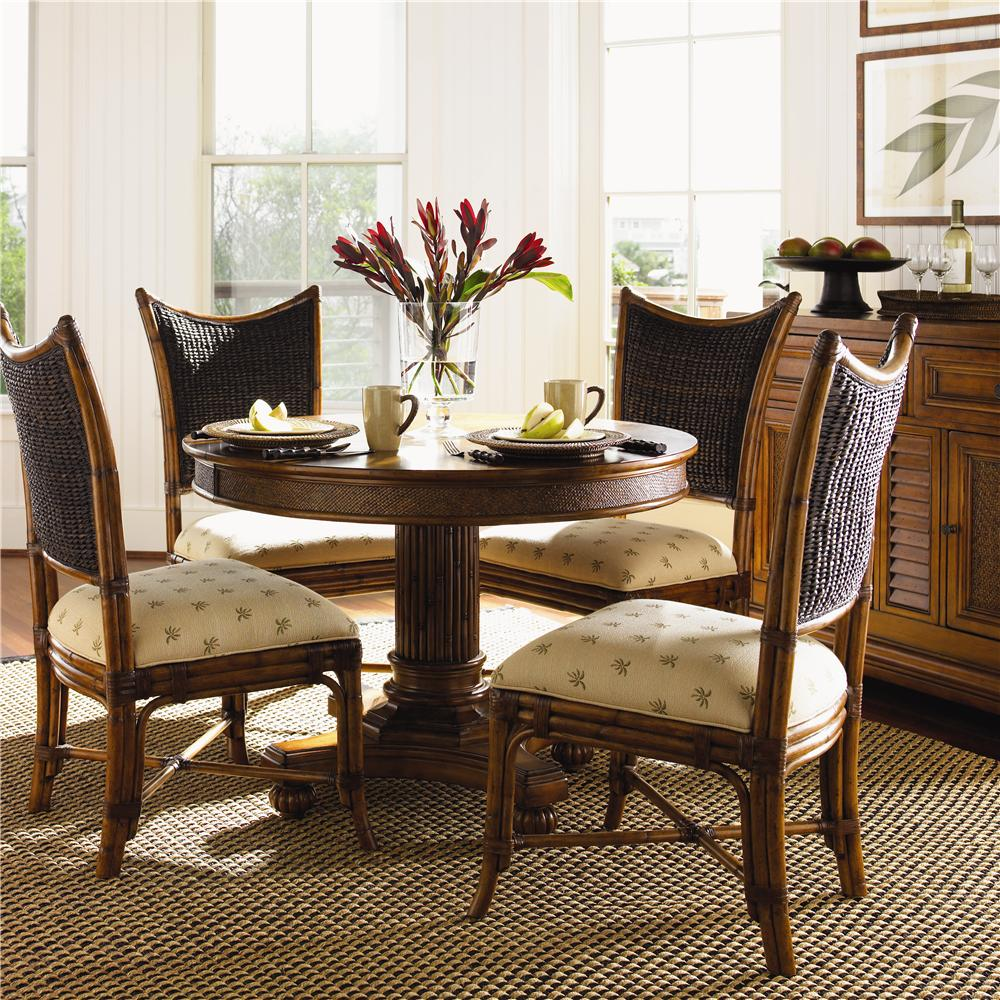 Tommy bahama home island estate 5 piece dining cayman for Breakfast island set