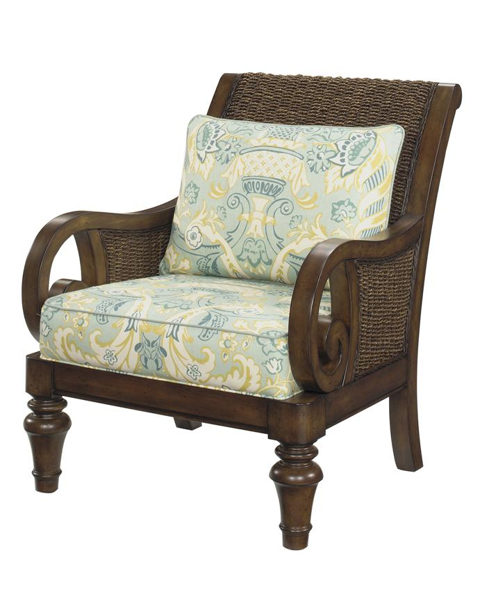 Lexington lexington upholstery marin chair loose back water hyacanith chair johnny janosik Home brands furniture trentham