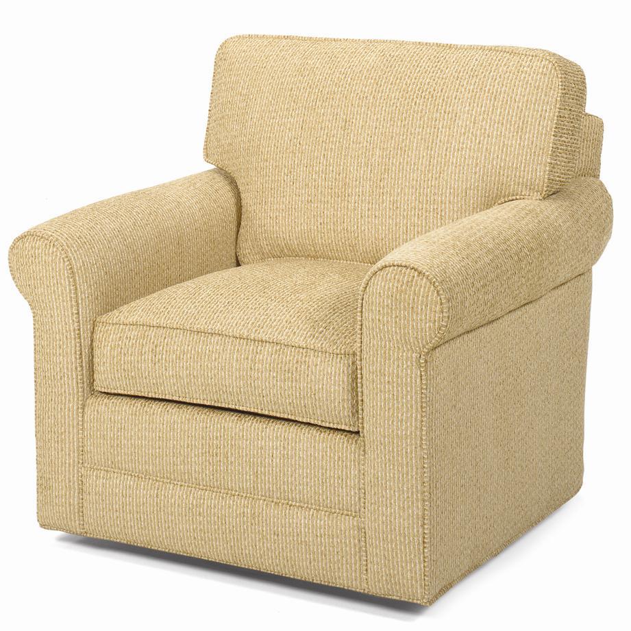 Lexington Lexington Upholstery Clifton Upholstered Swivel Chair Belfort Furniture
