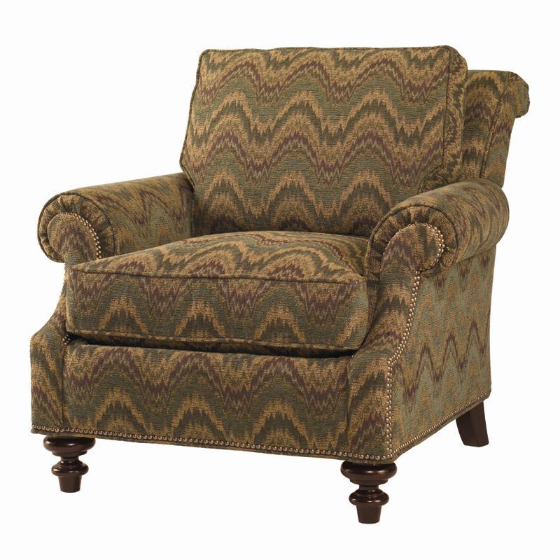 Lexington Lexington Upholstery Darby Loose Back Upholstered Chair Belfort Furniture