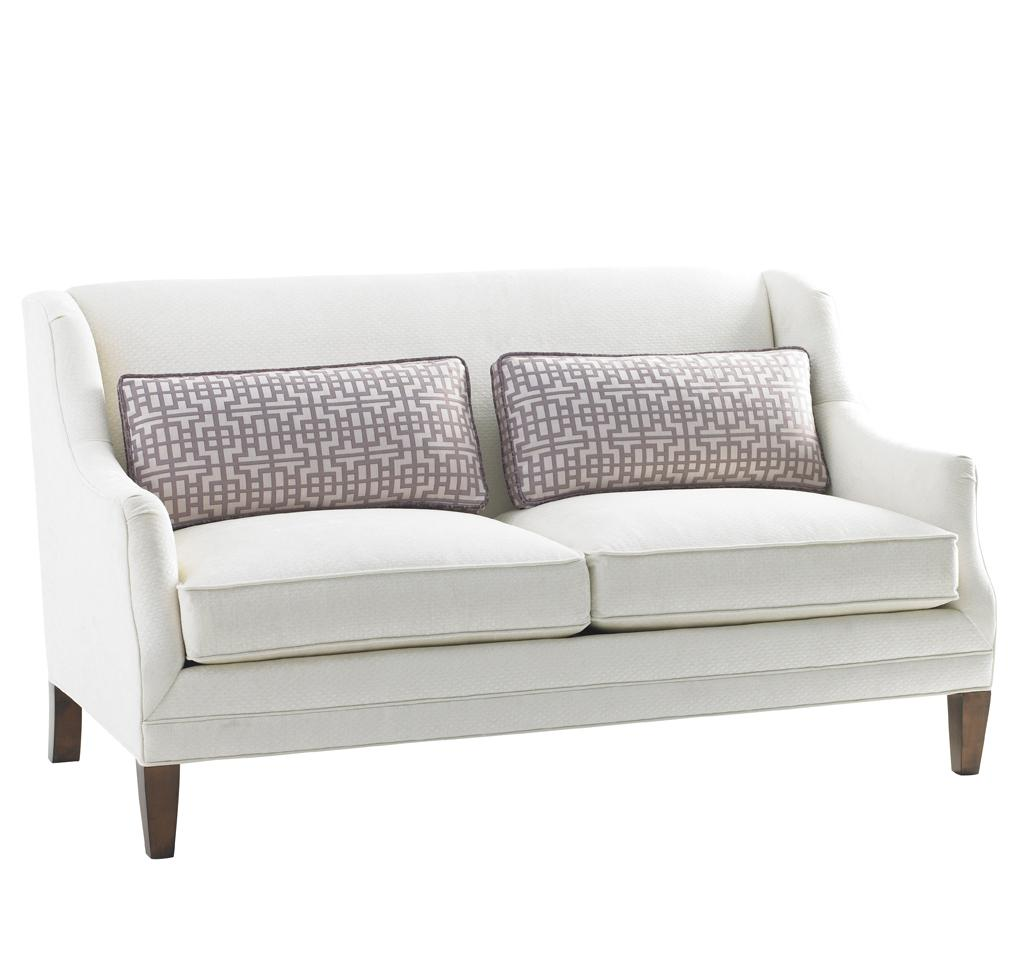 Lexington mirage tight back sofia love seat hudson 39 s furniture love seats Home brands furniture trentham