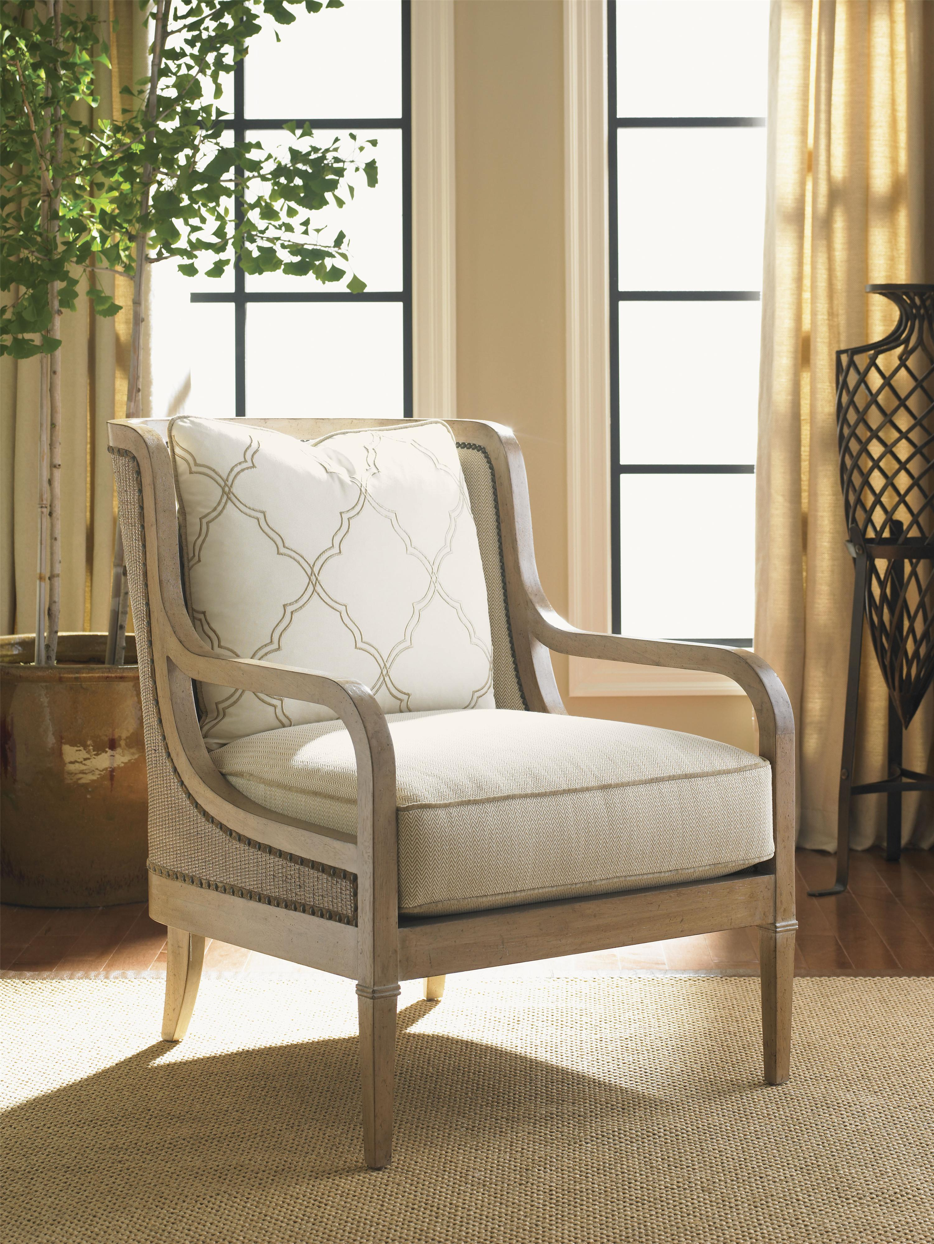 Lexington monterey sands 7276 11 archer chair with exposed wood arms baer 39 s furniture Lexington home brands outdoor furniture
