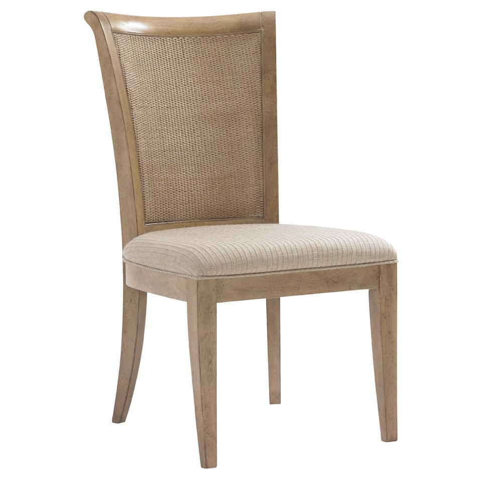 Lexington Monterey Sands Seven Piece Walnut Creek Dining Table And Los Altos Chairs Set Baer 39 S