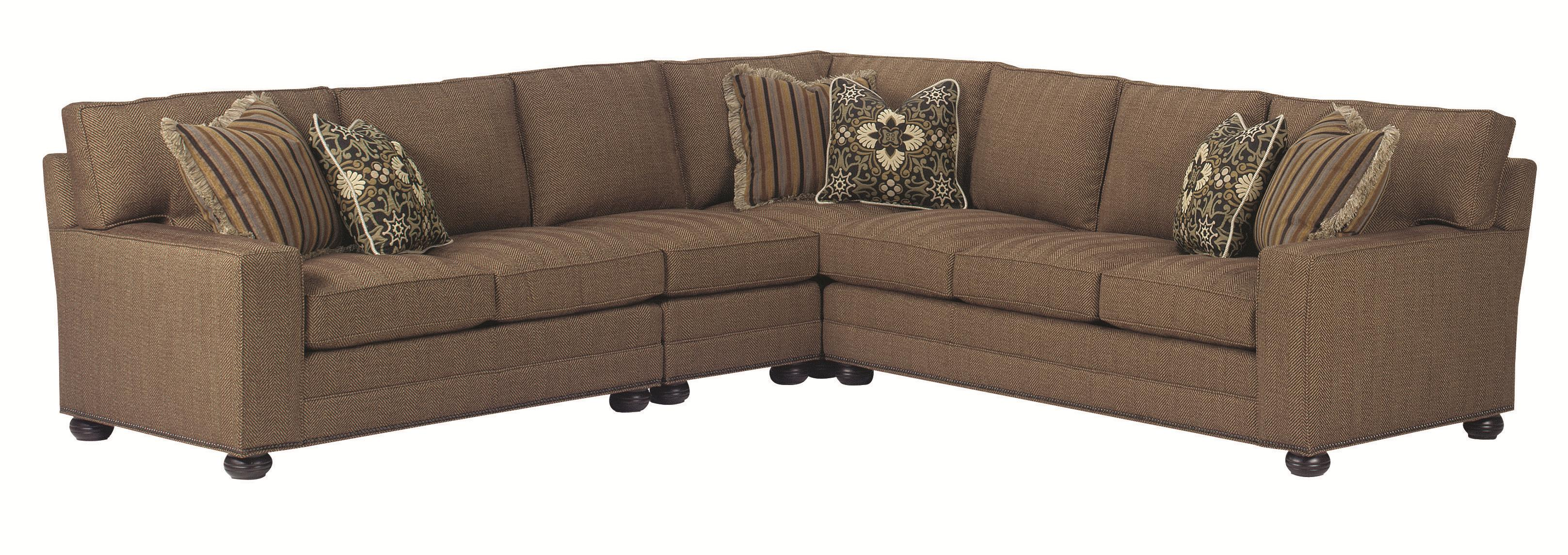 Lexington Personal Design Series Customizable Upholstered Norwood Sectional Baer 39 S Furniture