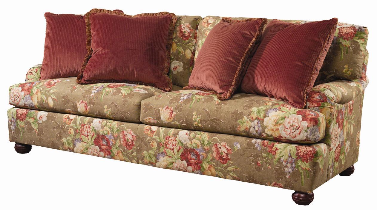 Lexington personal design series 7451 33 customizable overland sofa with english arm and bun Lexington home brands outdoor furniture