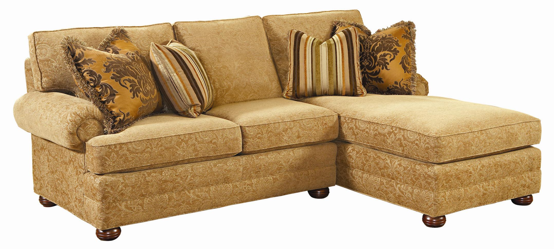 Lexington Personal Design Series Customizable 2 Piece Overland Sectional Baer 39 S Furniture