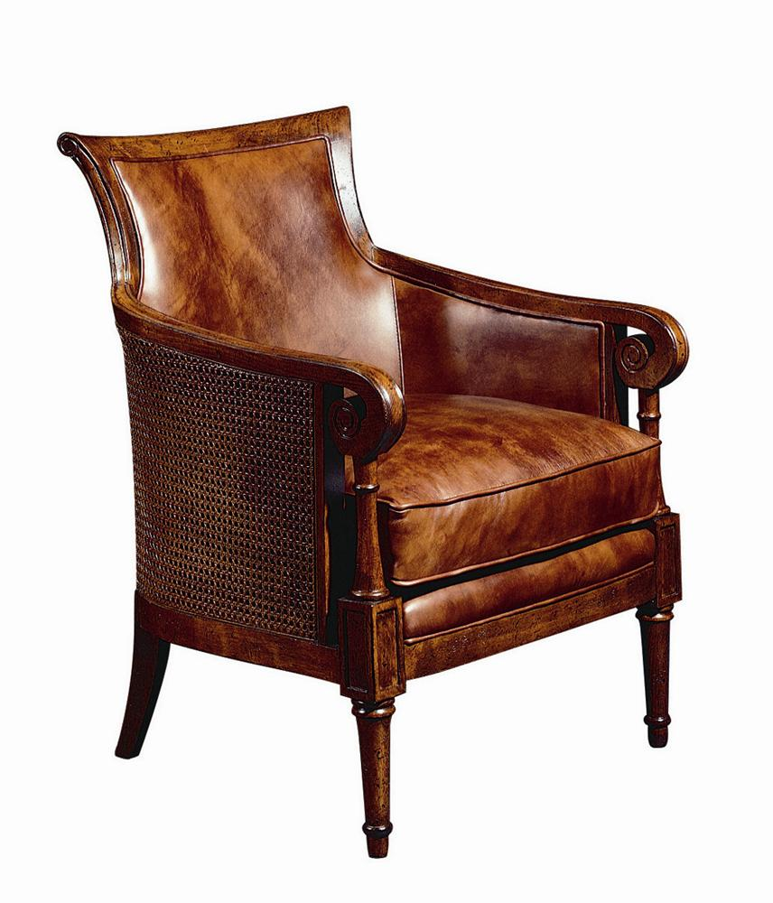 Tommy Bahama Home Island Estate Nassau Chair With Exposed Wood Accents Jacksonville Furniture