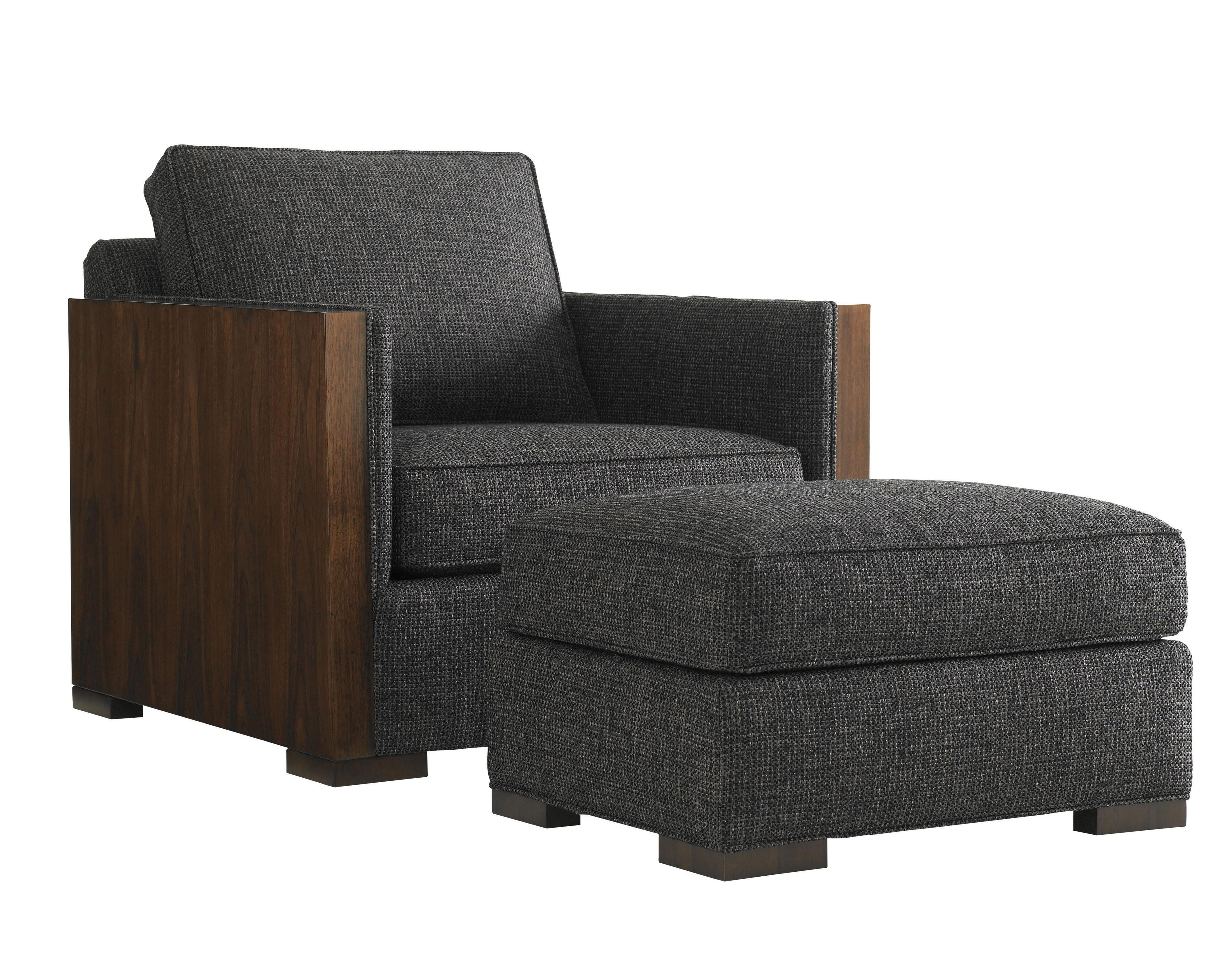 Lexington Tower Place Contemporary Edgemere Chair And Ottoman Reeds Furniture Chair