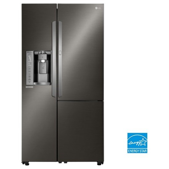 lg appliances lsxs26386denergy star 26 cu ft side by side refrigerator with door in door. Black Bedroom Furniture Sets. Home Design Ideas