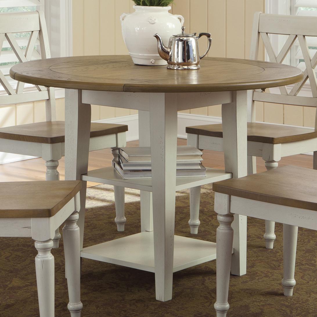 Liberty Furniture Al Fresco III Round DropLeaf Dining Leg Table