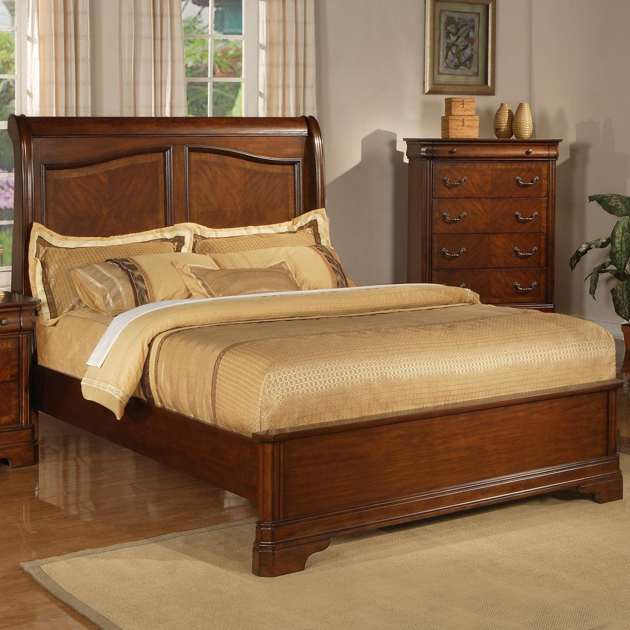 Liberty Furniture Alexandria Queen Sleigh Bed With Low
