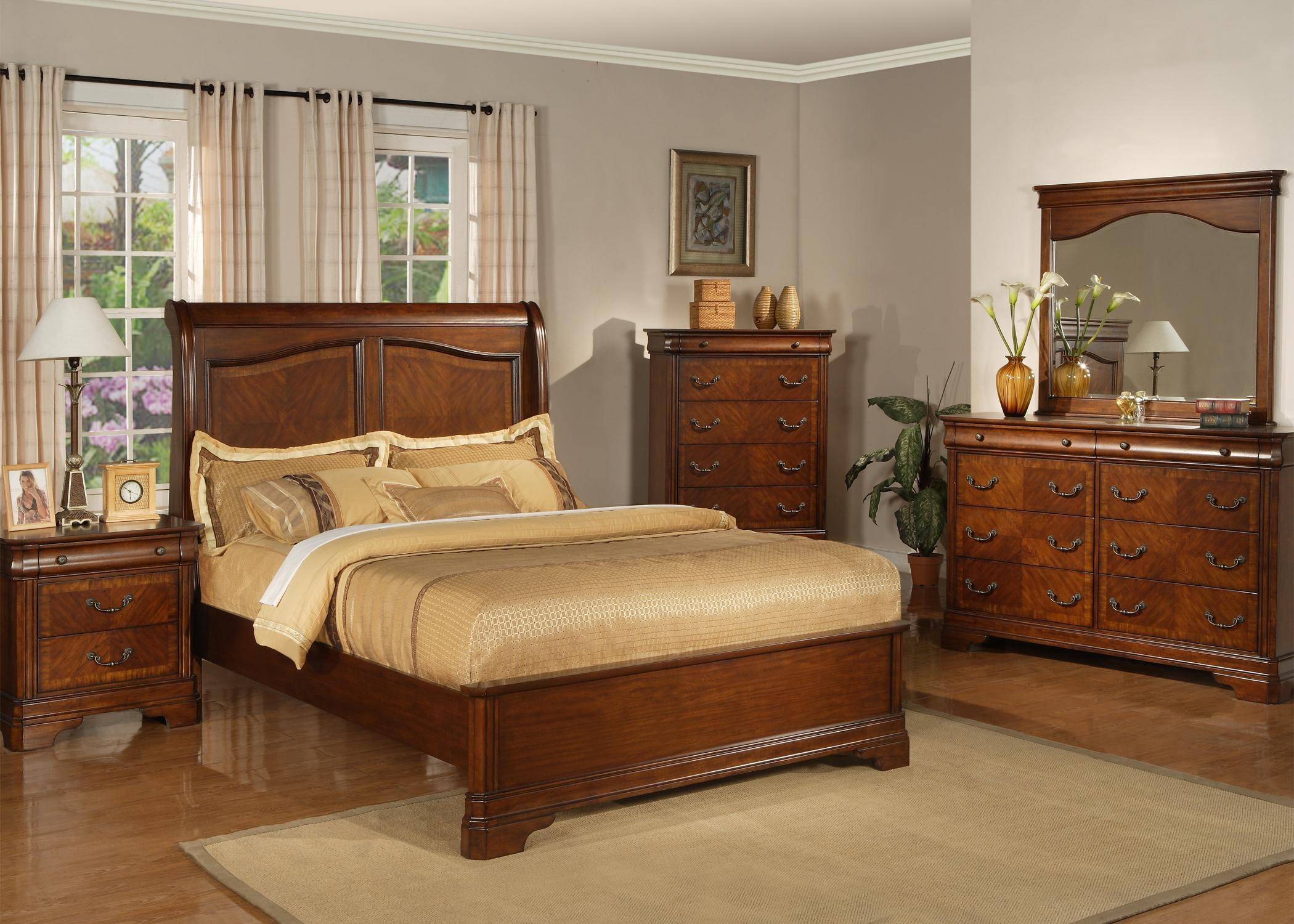 Alexandria King Sleigh Bed With Low Profile Footboard By Liberty Furniture Wolf Furniture