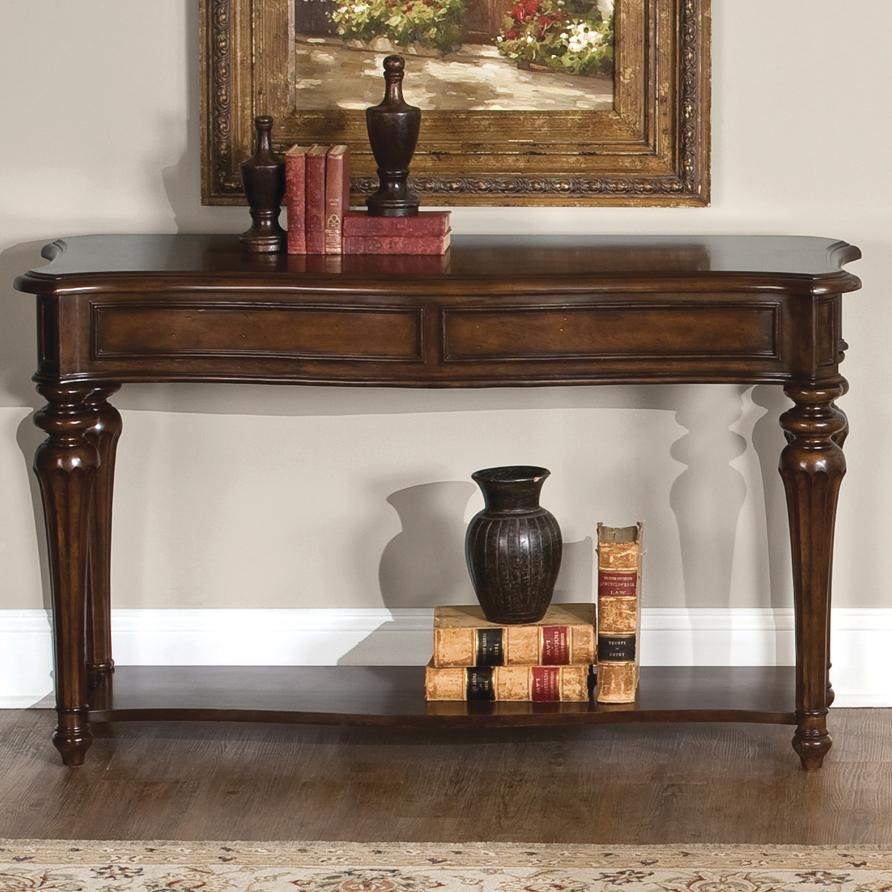 Vendor 5349 Andalusia Traditional Sofa Table with Lower