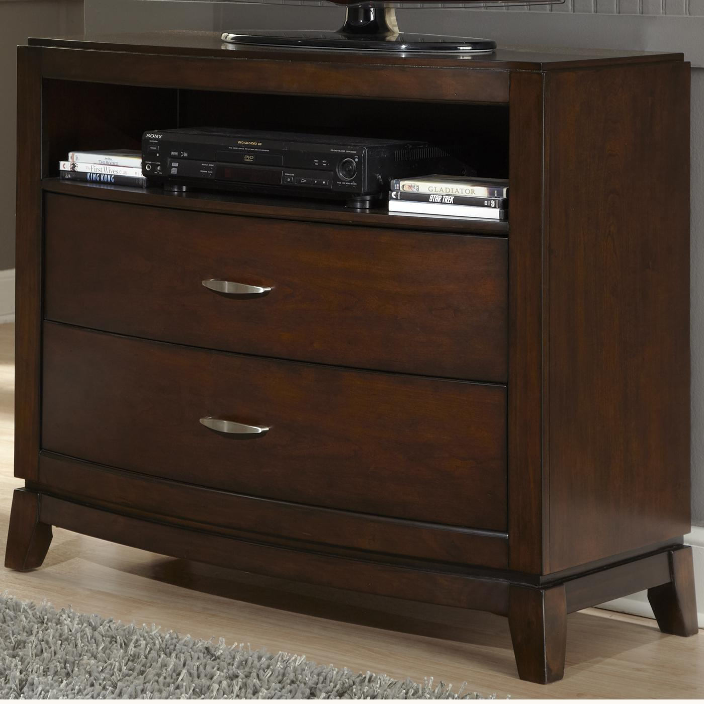 Avalon Media Chest With 2 Drawers And 1 Shelf Rotmans Media Chests