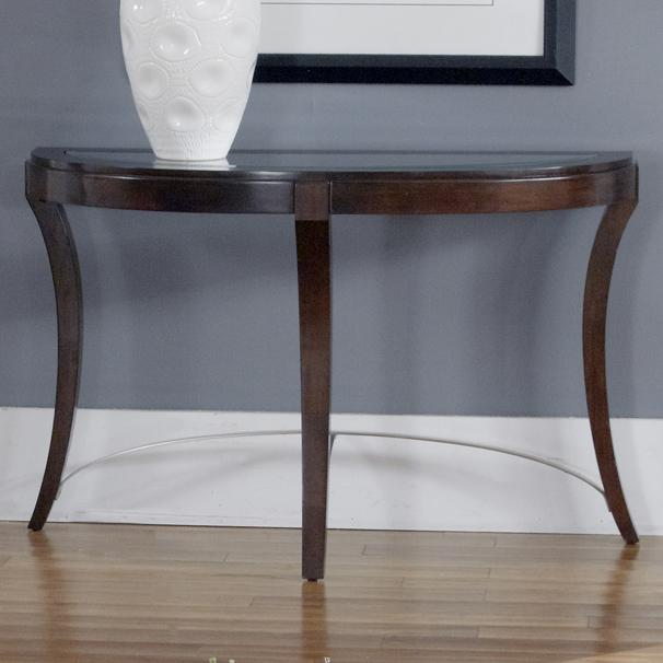 Liberty furniture avalon glass top sofa table furniture for Dining room tables jacksonville nc