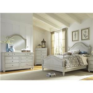 Liberty Furniture Harbor View Queen Poster Bedroom Group Bullard Furniture Bedroom Groups