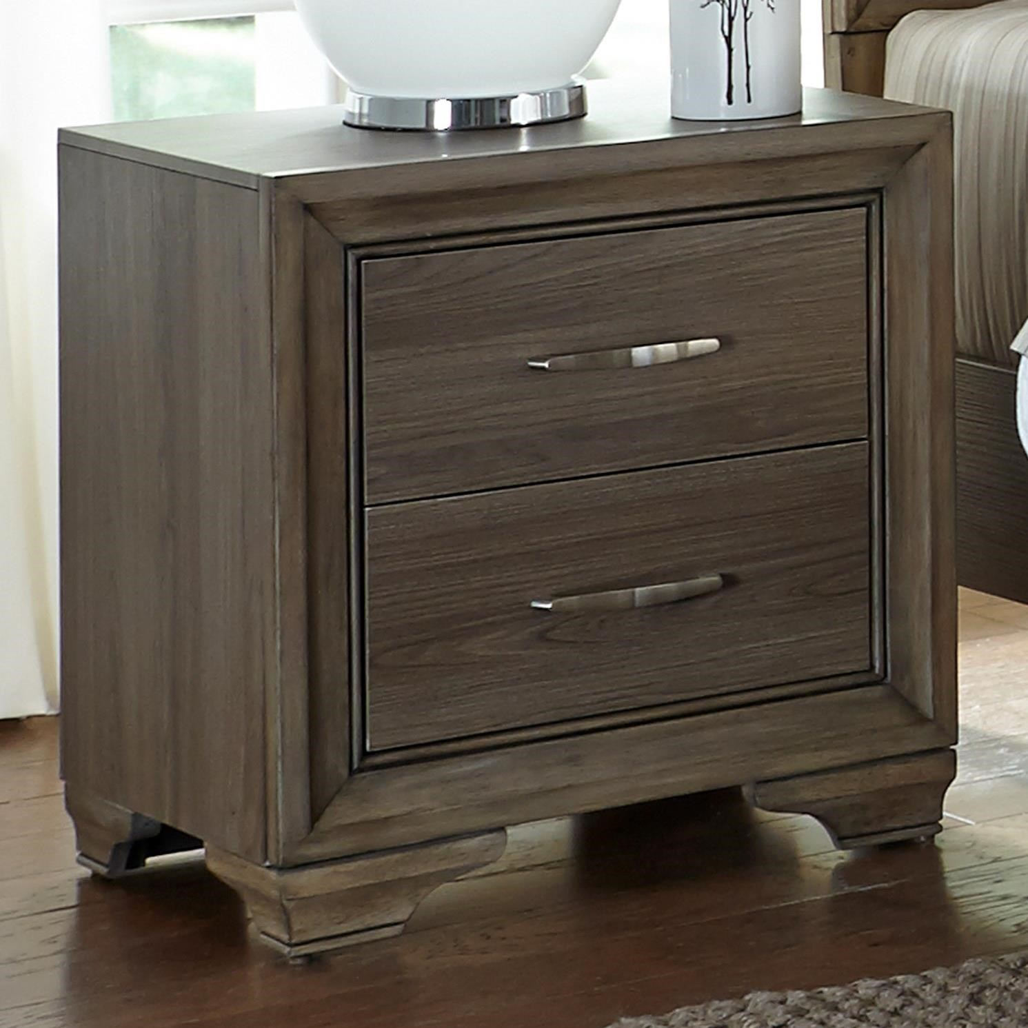 Liberty furniture hartly nightstand with two dovetail for Furniture options