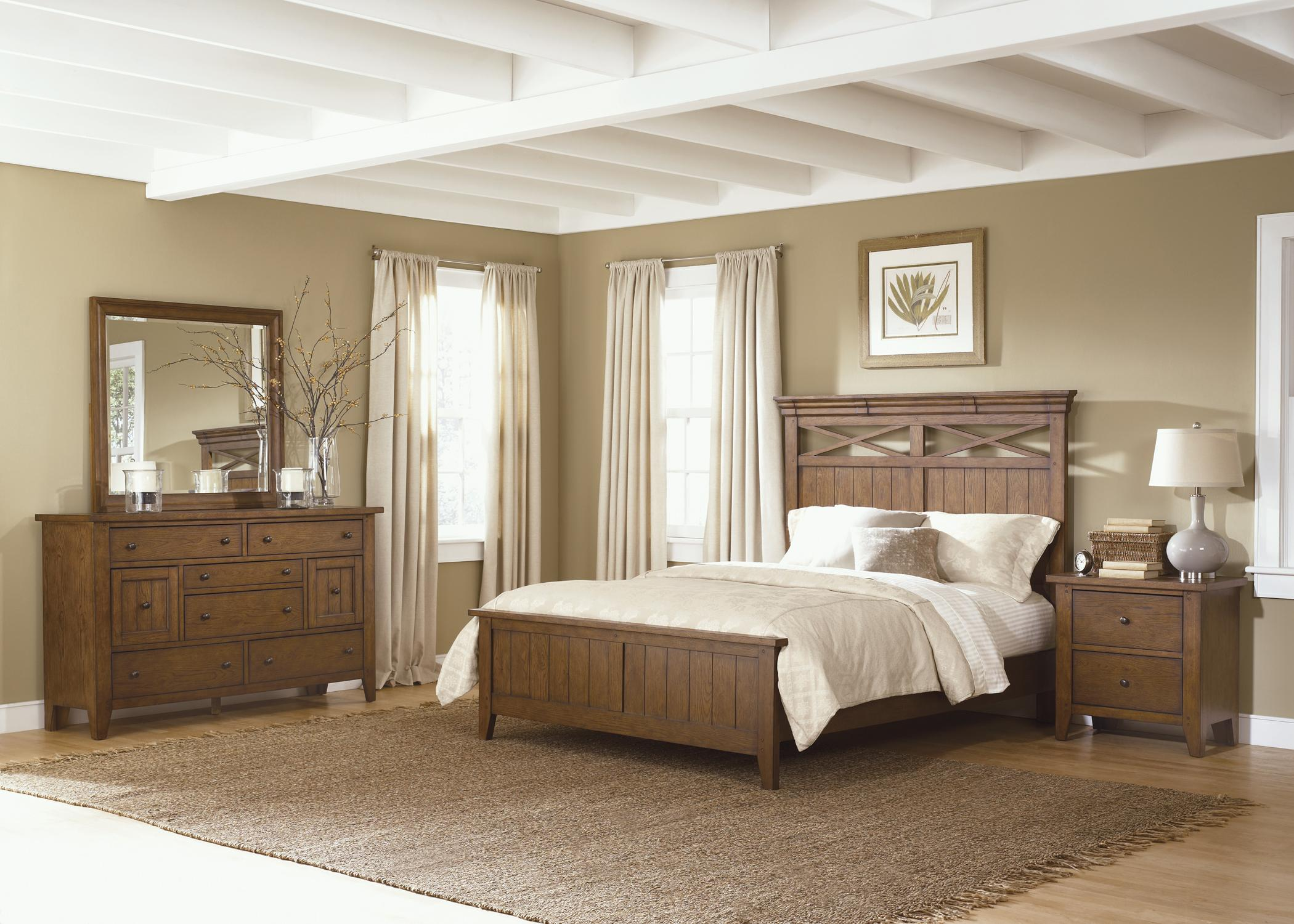 country style queen panel bed by liberty furniture wolf furniture