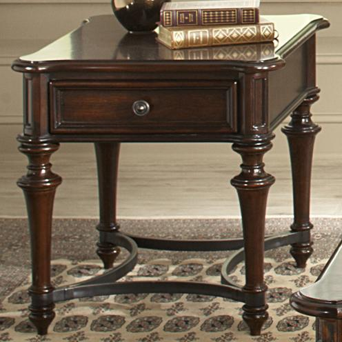 Liberty furniture kingston plantation end table with one for Furniture kingston