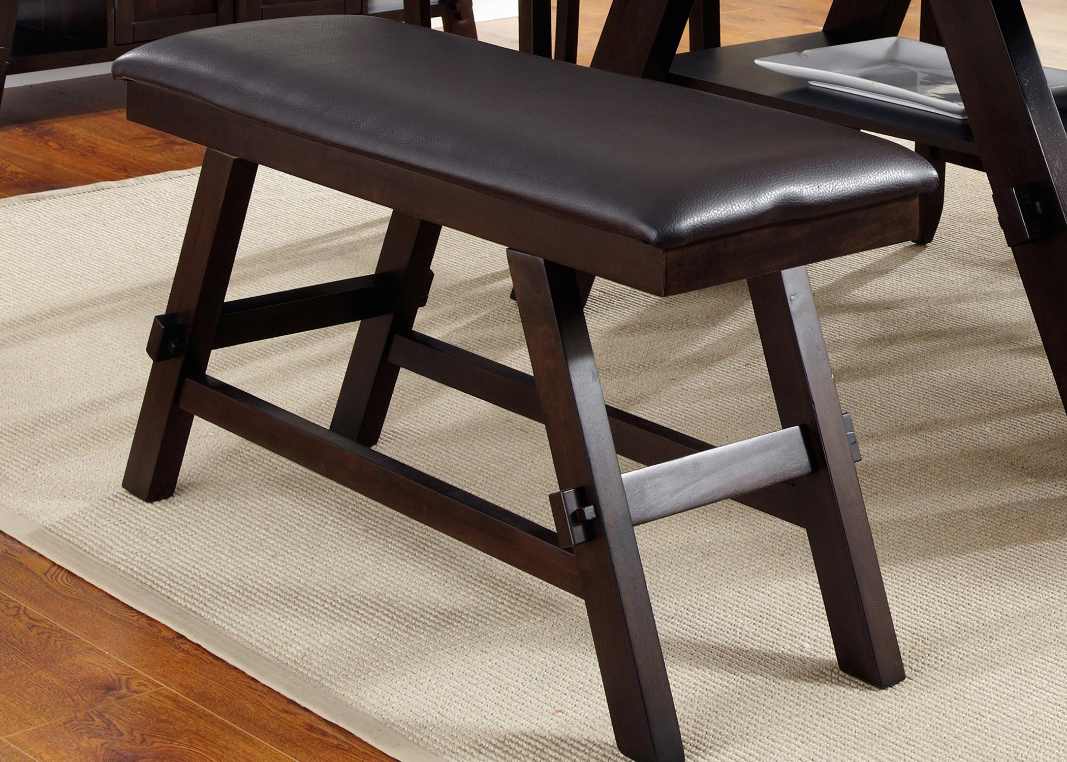 Lawson Counter Bench (RTA) by Liberty Furniture at Godby Home Furnishings