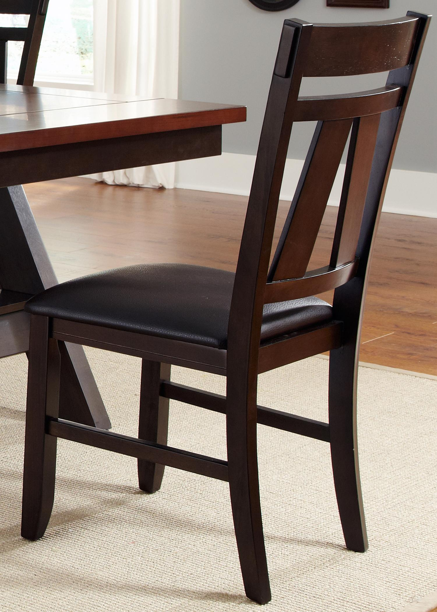 Lawson Splat Back Side Chair (RTA) by Liberty Furniture at Darvin Furniture