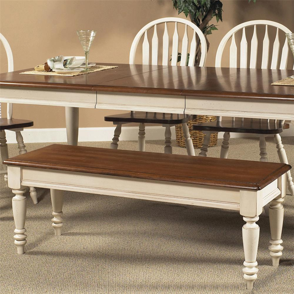 low country bench with turned legs rotmans bench dining benches worcester boston ma. Black Bedroom Furniture Sets. Home Design Ideas