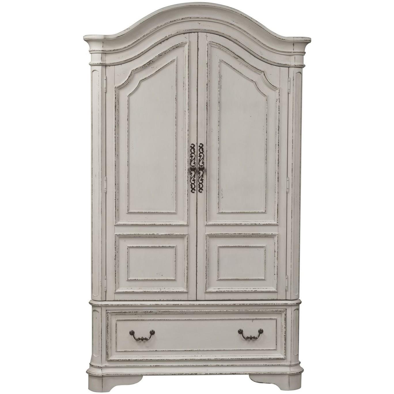 Magnolia Manor Armoire by Sarah Randolph Designs at Virginia Furniture Market