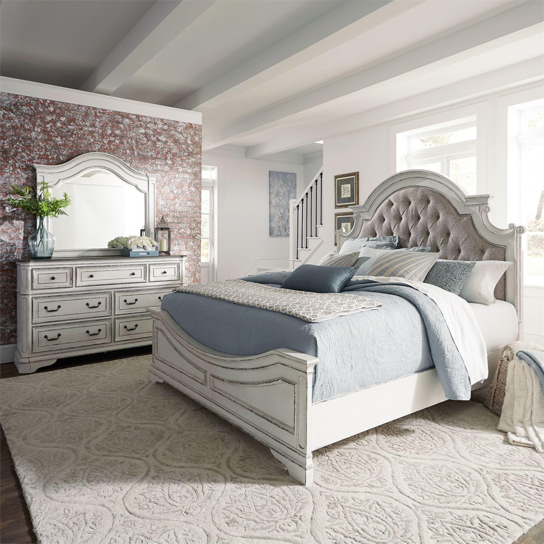 Magnolia Manor Queen Bedroom Group by Sarah Randolph Designs at Virginia Furniture Market