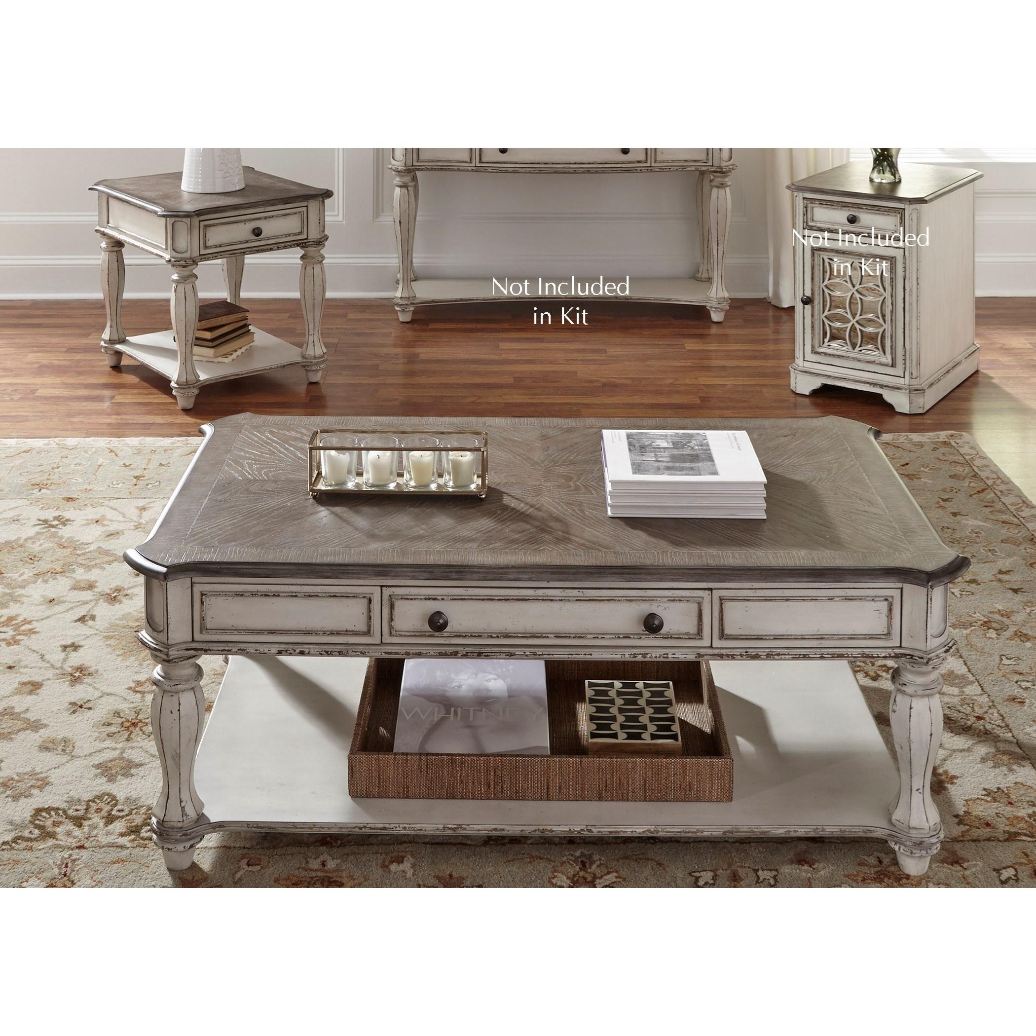 Magnolia Manor 3 Piece Set by Sarah Randolph Designs at Virginia Furniture Market