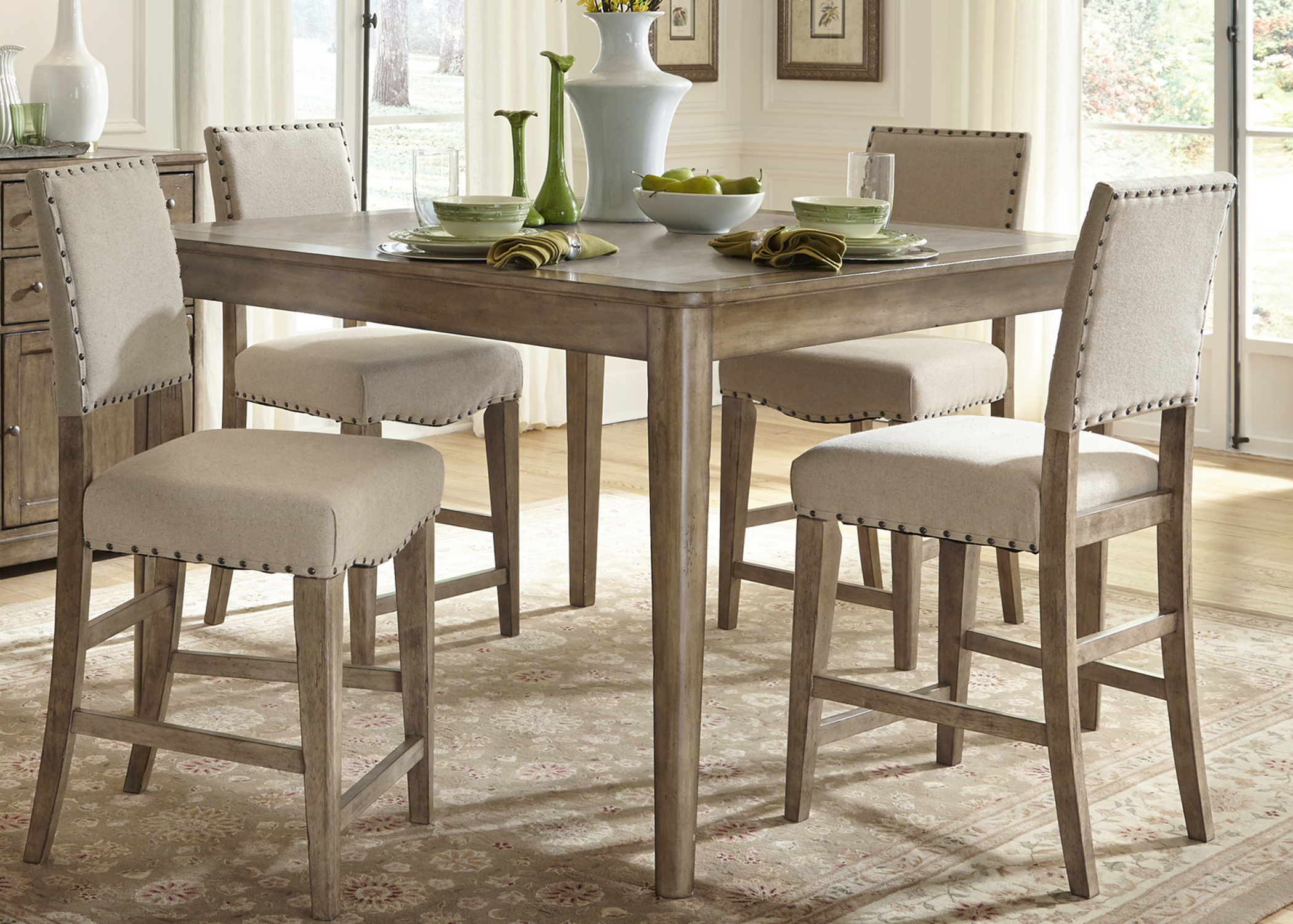 Vendor 5349 weatherford 645 cd 5gts rustic casual 5 piece for World best dining tables