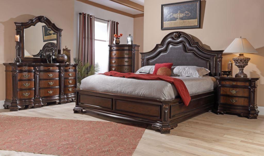 Lifestyle Jade Queen 6 Piece Bedroom Group Royal Furniture Bedroom Groups