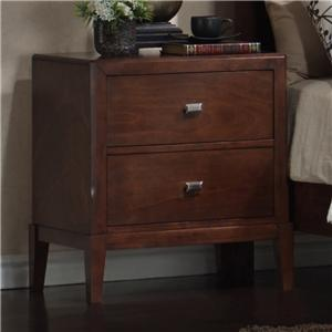 Lifestyle 9142 6 drawer dresser with geometric drawer for Bedroom bureau knobs
